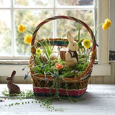 Egg  Basket, easter and spring time sweet!!