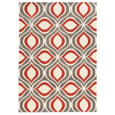 Langley Street Francine Hand-Tufted Gray Area Rug & Reviews | Wayfair