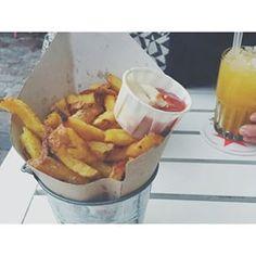 De las mejores papas caseras #ñam www.vadefoodies.com #vadeFOODIES #foodie #food #foodporn #foodies #foodbloggers #healthyfood #foodblog