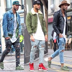Images of swag style 2018 - Fashion Mode, Dope Fashion, Urban Fashion, Mens Fashion, Fashion Trends, Fashion For Man, Mens Autumn Fashion, Fashion Black, Street Fashion
