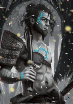 Samurai by Jessica-Prando.deviantart.com on @DeviantArt