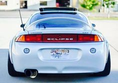 Flared 2G Eclipse with Euro-market taillights | DSM