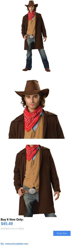 Men Costumes: Cowboy Costume Adult Western Halloween Fancy Dress BUY IT NOW ONLY: $45.49 #priceabateMenCostumes OR #priceabate