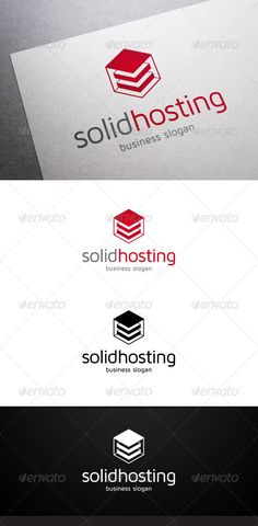 Solid Hosting  - Logo Design Template Vector #logotype Download it here: http://graphicriver.net/item/solid-hosting-logo/4765124?s_rank=1411?ref=nesto