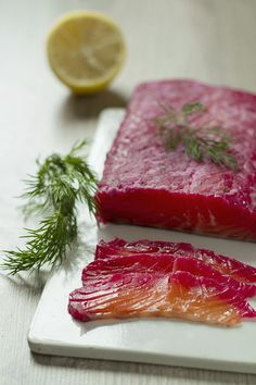 Gravlax w burakach wg Jamiego Olivera – Kuchnia w formie Food And Drink, Fish, Meat, Cooking, Seafood, Pisces, Kitchen, Brewing, Cuisine