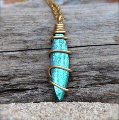 Surfboard Jewelry  Beach Boho Jewelry from Hawaii by MermaidTearsDesigns, $24.00