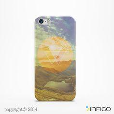 IPhone géométrique 6 6 Plus /5/ cas 4 /4s 5 s 5 c par InfigoCase