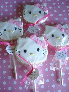 Hello Kitty cookies.