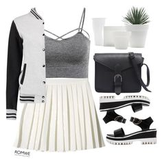 """#ROMWE"" by credentovideos ❤ liked on Polyvore featuring StyleNanda"