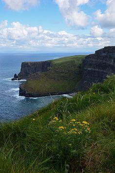 Cliffs of Moher-1559 by schnitzgeli1, via Flickr Cliffs Of Moher, Mountains, Water, Travel, Outdoor, Ireland, Gripe Water, Outdoors, Viajes