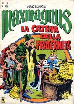 Maxmagnus Alan Ford, Bunker, Comic Books, Comics, Cartoons, Cartoons, Comic, Comic Book, Comics And Cartoons