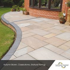 Indian stone patio ideas natural ideas for 2019 Pergola Patio, Diy Patio, Backyard Patio, Backyard Landscaping, Patio Ideas, Garden Ideas, Landscaping Ideas, Patio Kits, Driveway Ideas