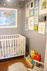 Supermom vs Me: Master Closet Turned Baby Boy Nursery