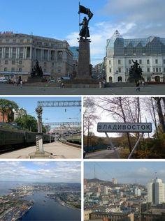 Scenes of Vladivostok, Russia.