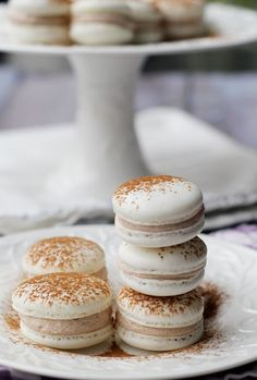 Snickerdoodle Macarons...how I learned to make the perfect macs!