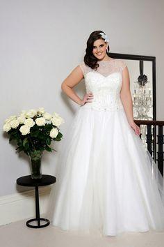 Atractivos vestidos de novia para gorditas | Moda y Tendencias para bodas