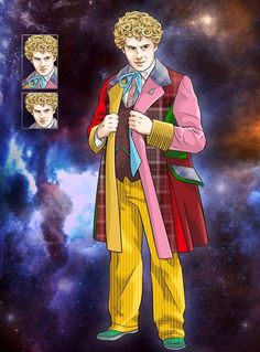 The Sixth Doctor Colin Baker | Doctor Who Legacy Colin Baker Sixth