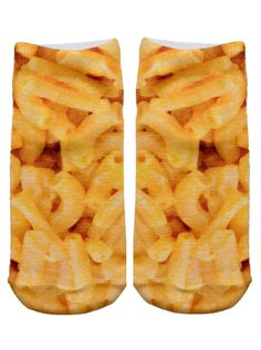 """We love Mac and Cheese! *Unisex *100% polyester *Made in the USA *One Size fits most * 7.5"""" L x 3"""" W Printed on one side only."""