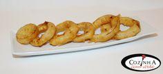 Cozinha com Arte: Aros de cebola frita