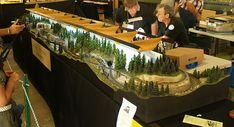 Railway Modellers' Club of Queensland - Tall Timber Tramway - T-Trak Model Railroading