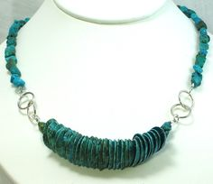 Adjustable++Genuine+Turquoise+Necklace+FREE+by+NewHopeBeads,+$26.00