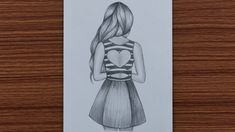 draw easy drawing step sketches cool pencil simple person drawings beginners teenage dresses bff looking cartoon girly creative