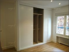 Interior de armario en melamina