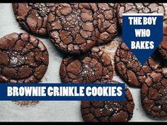 Brownie Crinkle Cookies