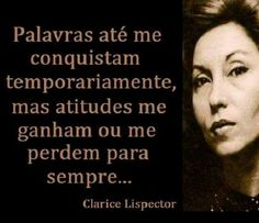 Clarice Lispector Great Words, Wise Words, Shakespeare Frases, Great Quotes, Inspirational Quotes, Infp, Personality Types, Reflection, In This Moment
