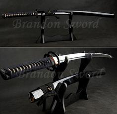 black Japanese katana sword