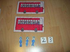 El autobús decena - Aprendiendo matemáticas