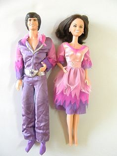 Donny and Marie Osmond Barbies by Mattel c1968 by SmallFavorites, $19.50