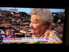 Oklahoma Tornado Survivor Finds Missing Dog During Live Interview • New Update •