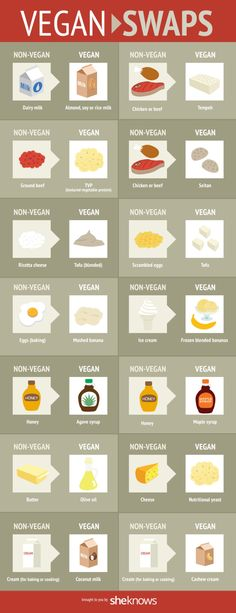A handy guide to vegan alternatives for everyday ingredients