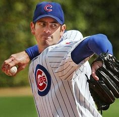 June 26, 2003  Mark Prior goes 8 innings, strikes out 16 Milwaukee Brewers and walks no one, he gives up 4 hits and 2 runs, but Cubs loses as Joe Borowski gives up 3 ninth inning runs.  Milwaukee 5 Cubs 3