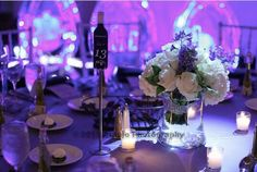 beautiful wedding reception decor! Have a favorite color you want present at your wedding? Let Calla help! Available at your Pittsburgh area wedding with the help of Calla Event, Design. and Travel! Pennsylvania Weddings.  Get more info at http://callaeventdesign.squarespace.com
