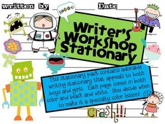 Writer's Workshop Printables