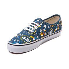 4e199f945385c2 Disney x Vans Authentic Donald Duck Skate Shoe