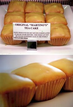 Tea Cakes from Martino's Bakery Burbank, CA - I have never had anything that comes close!