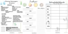 tablice do wydrukowania Planner Supplies, Green Cleaning, Free Prints, Bujo, Back To School, Projects To Try, Bullet Journal, Organization, How To Plan