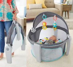 The On-The-Go Baby Dome Is a Super-Portable Playard For Your Baby