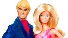 Ken and Barbie.
