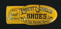 The Endicott-Johnson Shoe Company. Endicott, NY. Truly one of the best companies around in its heyday. They don't make them like they used to.