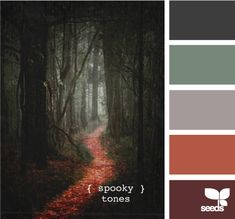 spooky tones from Design Seeds
