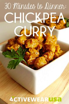 An authentic Indian curry doesn't require simmering in a large pot for hours and hours. This flavorful version is ready in less than a half hour. #healthy #recipe
