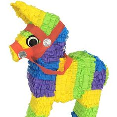 Can't forget having a Piñata for your Cinco de Mayo party!