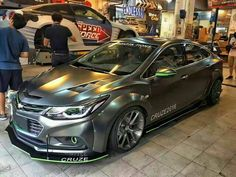 Once again China has shown us what they are currently doing with the newly released 2016 Chevy Cruze. A lot of people are currently not a fan of the 2nd gen Cruze, but this one definitelymight make you change your mind. Check out the video down below. All credit goes toRainbow Pen Chevrolet CRUZEfrom China. […] 2016 Cruze, 2016 Chevy Cruze, Chevrolet Cruze, Chevy Cruze Custom, Custom Cars, Cars And Motorcycles, China, Bike, Barbers