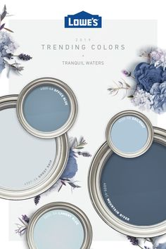 From pinspiration to the finishing touches, has the trending colors you love to bring your dream room to life. room ideas for boys room ideas unique room ideas on a budget kids room ideas kids rooms rooms Room Colors, Wall Colors, House Colors, Interior Paint Colors, Paint Colors For Home, Interior Design, Coastal Paint Colors, Blue Paint Colors, Home Renovation