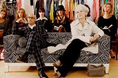 The Devil Wears Prada - 2006... Well you know me. Give me a full ballerina skirt and a hint of saloon and I'm on board.