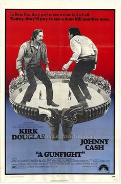 A Gunfight, 1971! Such a great movie! The only one I've seen that offers a dual ending! See it, or shut up!